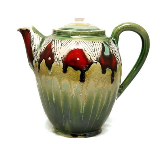 Darjeeling Teapot Chirunzi Pattern