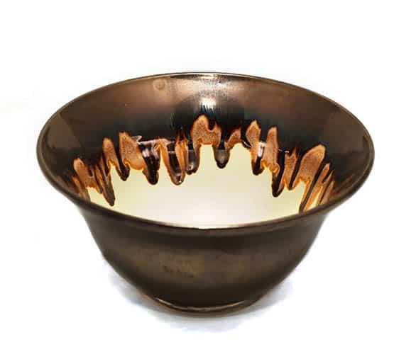 Noelle Bowl Granite Melt Pattern